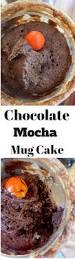 mocha chocolate banana mug cake ready in 5 mintues or less