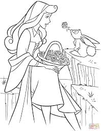 aurora rabbit coloring free printable coloring pages