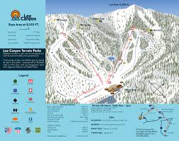 Las Vegas Hotel Map Trail Map Las Vegas Ski And Snowboard Resort U2013 Lee Canyon