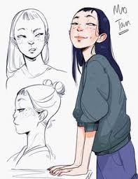 character design sketchbook planning drafting character