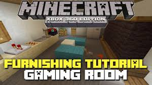 Minecraft Furniture Ideas Pe Minecraft House Room Ideas