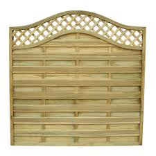 6ft paloma screen fencing panel fence plus fencestore
