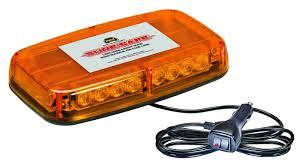 is led light safe wolo sure safe 12v low profile led amber warning light bar wol3720m a
