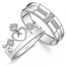 wedding rings sets his and hers for cheap 78 best images about silver his hers ring sets on