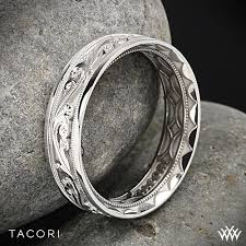 Tacori Wedding Rings by Tacori Sculpted Crescent Eternity Wedding Ring 2467