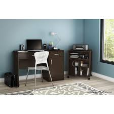 Desk For Laptop And Printer by South Shore Axess Printer Stand Chocolate 7259691 The Home Depot