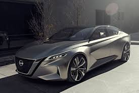 new nissan concept nissan vmotion 2 0 hints at future high tech family sedan