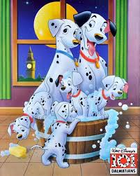 101 dalmatians bubble bath movie poster 4kids da colorare