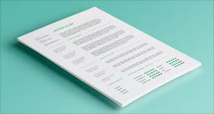 Free Simple Resume Builder 10 Best Free Resume Cv Templates In Ai Indesign U0026 Psd Formats