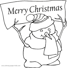 coloring pictures merry christmas coloring pages ideas