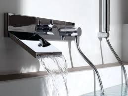 waterfall kitchen faucet kitchen wall faucets imindmap us
