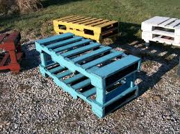 stretcher style clark coffee table bench pallet repurposed