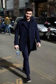 on the street u2026 all blue milan u0026 paris the sartorialist
