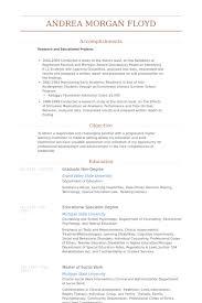 resume example psychologist resume sample