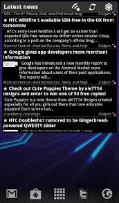 news widgets for android news scrollable news widget now available android central