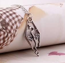 skyrim pendant necklace images Skyrim elder scrolls dragon pendant necklace iwisb jpg