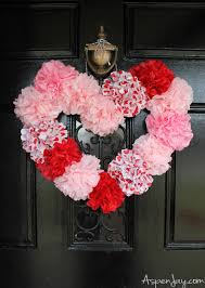 floral tissue paper tissue paper heart wreath tutorial aspen