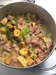 cuisine hiopienne casserole de porc créole d haïti recette de base
