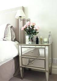 Addison Bedroom Furniture by Side Table Mirrored Side Table Bedroom Addison Mirrored Side