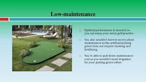 Artificial Backyard Putting Green by Improve Your Golf Game With A Backyard Putting Green