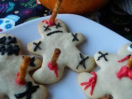 voodoo doll sugar cookies