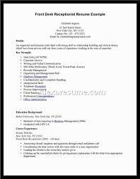 Resume Sample For Front Desk Receptionist by Resume Examples Receptionist Template Billybullock Us