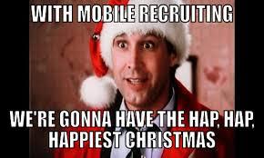 Christmas Shopping Meme - christmas shopping mobile recruiting