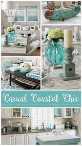 easy breezy living in an aqua blue cottage beach cottage decor