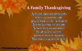 for thanksgiving