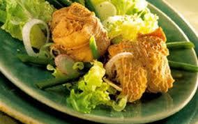 cuisiner les tripoux recette salade tiède de tripoux 750g