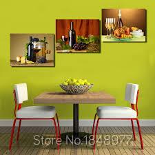 modulare k che 3 stücke moderne modulare wand ölgemälde abstrakte wein obst küche