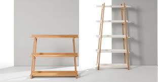 Oak Ladder Bookcase by Darcey Low Shelves Oak Made Com