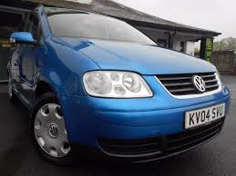 used volkswagen touran cars for sale motors co uk