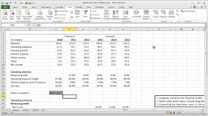 Financial Modeling Excel Templates Financial Modeling Lesson Offset Match And Data