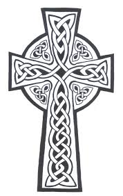 Celtic Cross Half - celtic cross tattoos and ideas
