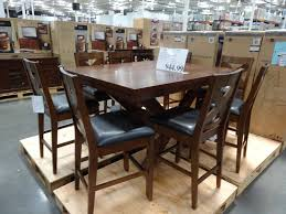high top kitchen table with leaf charleston counter height dining set costco for amazing sets kitchen