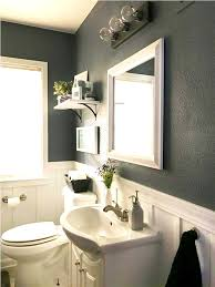 small sinks for small bathrooms dark gray accent wall color with cute sink for small bathrooms with