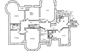 house blueprints basement blueprint floor second third house plans 86598