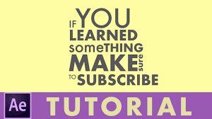 tutorial kinetic typography after effects making kinetic typography in after effects tutorial youtube