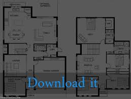 house plans modern two story modern house plans with photos 3