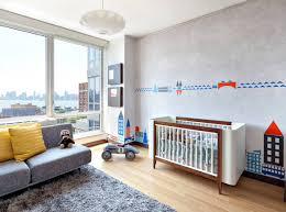 bedroom baby boy nursery ideas with contemporary sofa and plywood