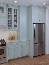 pictures of kitchens traditional blue kitchen cabinets