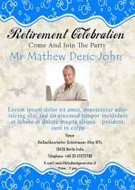 free retirement party flyer template free retirement invitation