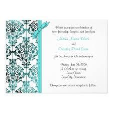 324 best aqua black wedding invitations images on pinterest card