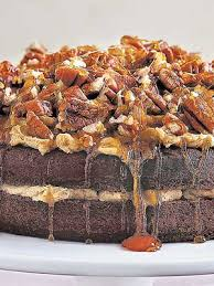 german chocolate upside down cake cookery mag the weekly