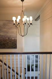 Transitional Chandeliers Dc Metro Visual Comfort Chandelier Staircase Transitional With