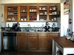 doorless kitchen cabinets kitchen cabinet designs upper cabinets