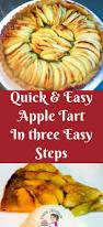 quick and easy apple tart in three easy steps veena azmanov