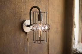 lamp vintage bathroom sconces plug in industrial light