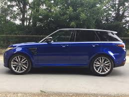 range rover sport blue used 2017 land rover range rover sport for sale in west yorkshire
